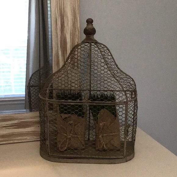 Birdcage Wall Decor Or Accent Piece